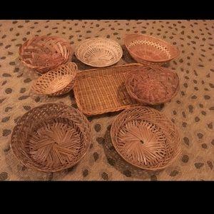 Other - Vintage Basket Bundle